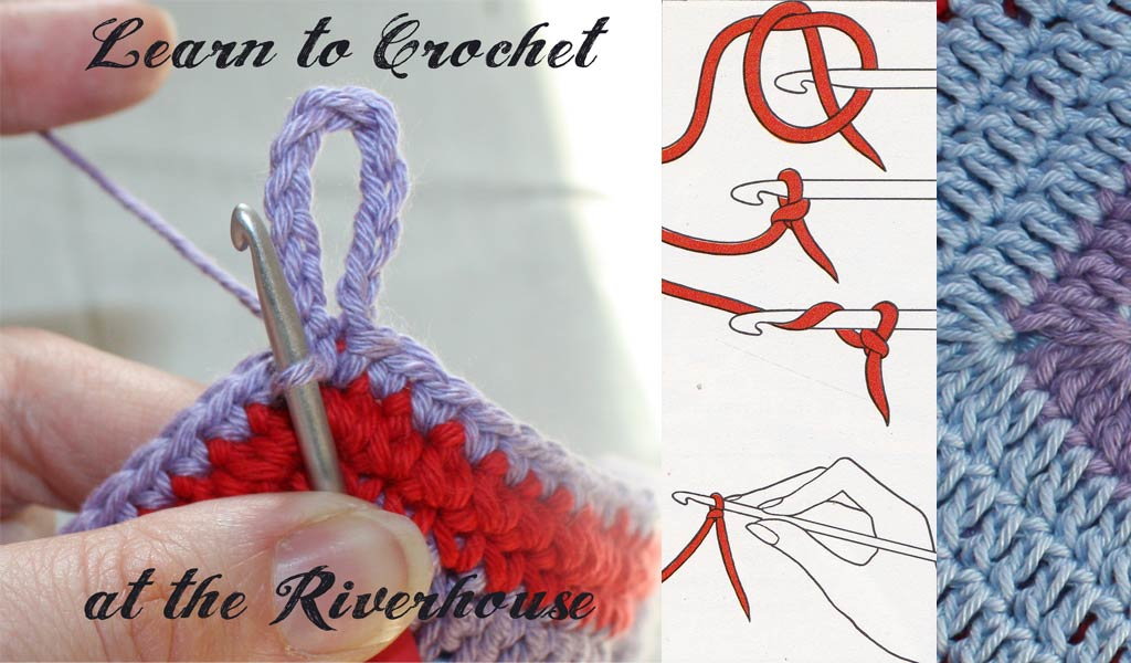 New 4 Week Beginners Crochet Course 29th April 20th May 2017