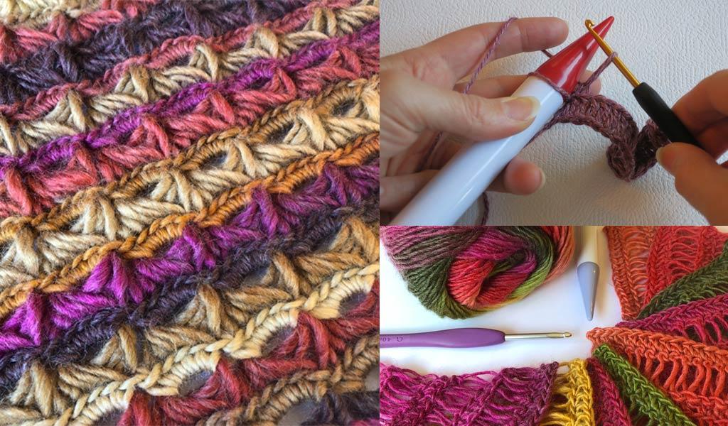 learn broomstick crochet class